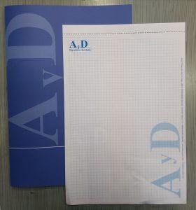 Carpetas y cuaderno microperforado
