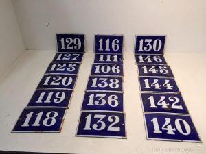 Números esmaltados