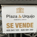 Placa PVC inmobiliaria